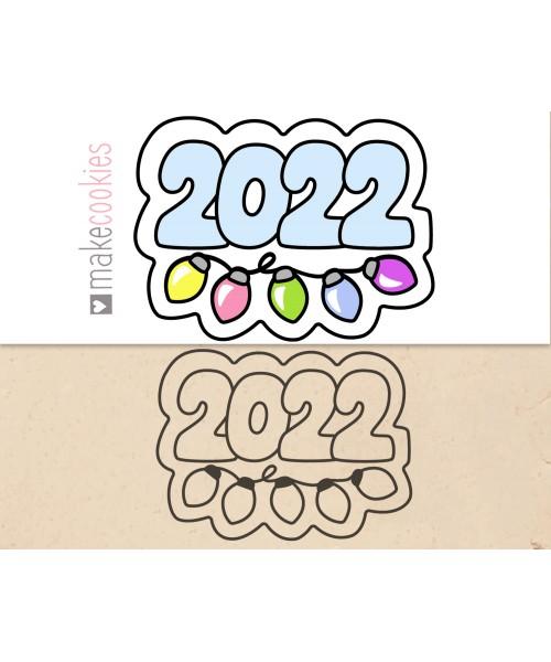 2022 С ГИРЛЯНДОЙ №2