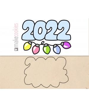 2022 С ГИРЛЯНДОЙ №1
