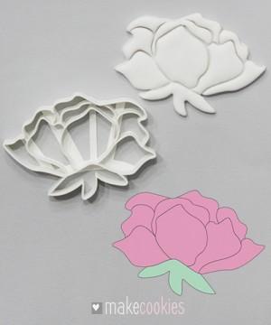 Цветок №7 - 10,5х7,5 см