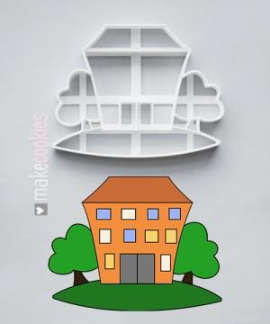 ШКОЛА/ЗДАНИЕ  №1 - 10 и 12 см