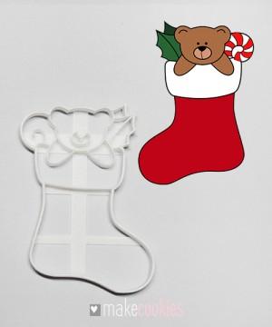 Носок с игрушками №1 - 12,5х8,5 см