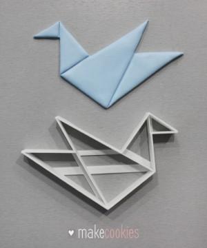 Журавлик Оригами - 12х7,5 см