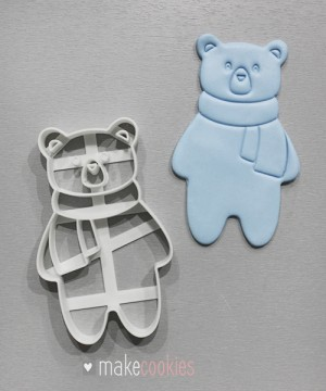 Полярный медведь №2 - 11х7 см