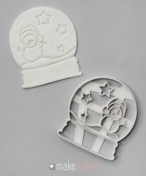 Снежный шар №4 - 10х9 см